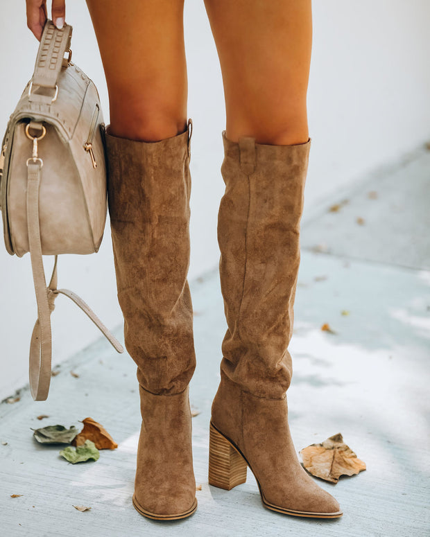 Saint Slouch Boot - Camel view 8