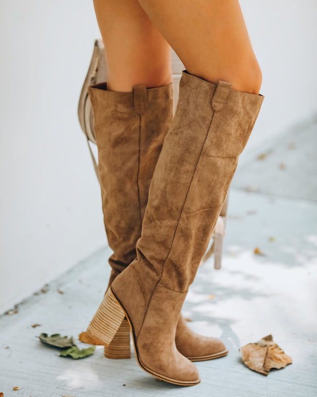 Saint Slouch Boot - Camel view 9