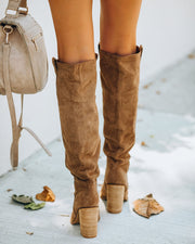 Saint Slouch Boot - Camel view 4