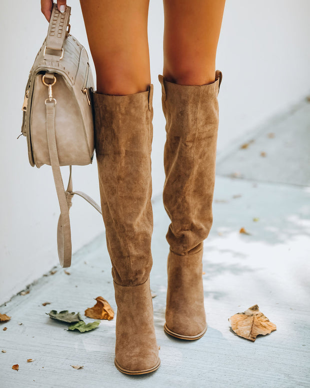 Saint Slouch Boot - Camel view 2