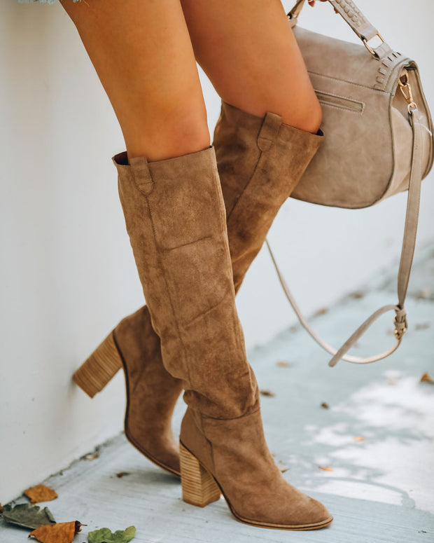 Saint Slouch Boot - Camel view 3