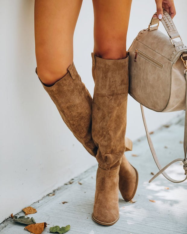 Saint Slouch Boot - Camel view 7