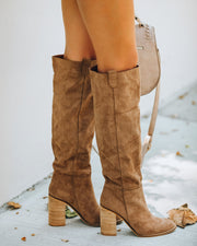 Saint Slouch Boot - Camel view 5
