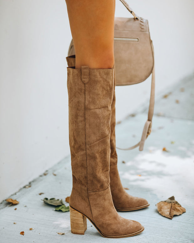 Saint Slouch Boot - Camel view 1