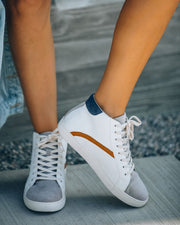 Above + Beyond High-Top Sneaker