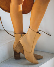 Culture Faux Leather Heeled Bootie view 1