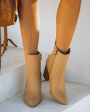 Culture Faux Leather Heeled Bootie view 8