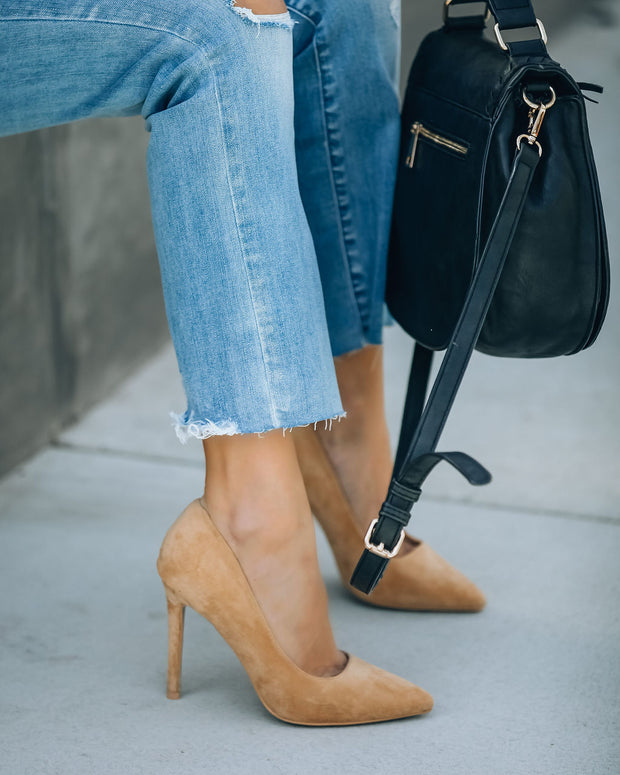 Tour Faux Suede Pumps view 7