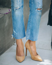 Tour Faux Suede Pumps