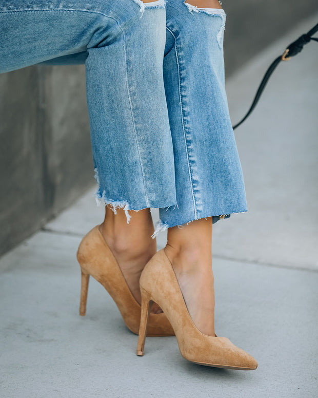 Tour Faux Suede Pumps view 1