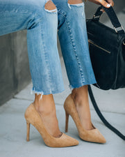 Tour Faux Suede Pumps view 9