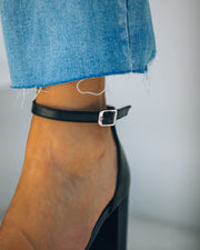Whimsy Heel - Black