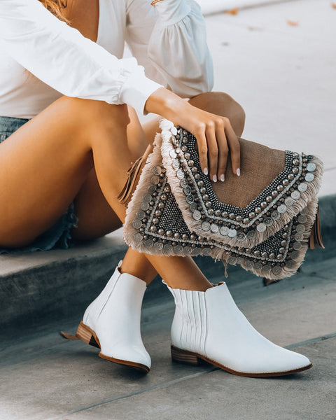 Conway Faux Leather Bootie
