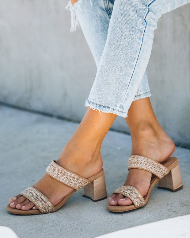 Scottsdale Raffia Block Heeled Sandal view 9