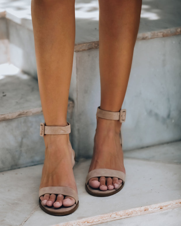 Favour Faux Suede Heeled Sandal - FINAL SALE