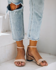 Wylan Faux Suede Heeled Sandal - FINAL SALE