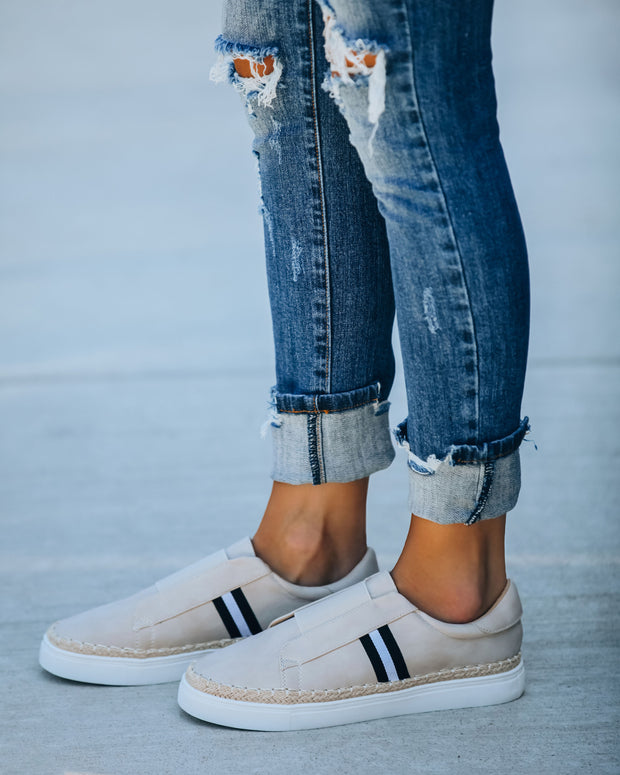 Harbor Faux Suede Slip-On Espadrille Sneaker