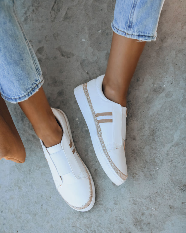 Starboard Faux Leather Slip-On Espadrille Sneaker