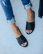 Untouchable Studded Slide Sandal