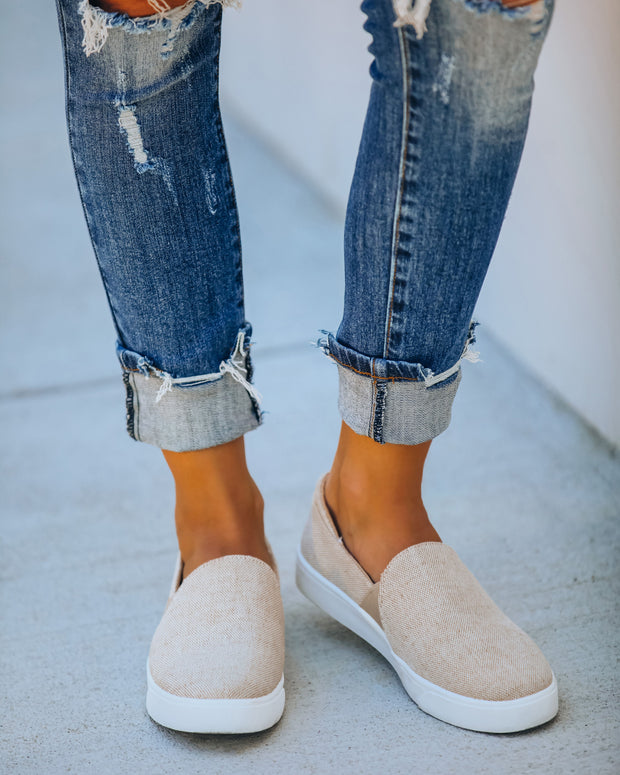 Blank Canvas Slip-On Sneaker