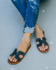 Shrill Studded Sandal - Black view 1