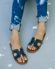 Shrill Studded Sandal - Black view 9