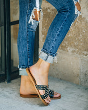 Shrill Studded Sandal - Black view 10