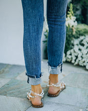 Venus Studded Strappy Sandal - Clear view 5