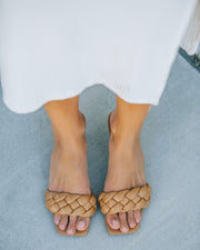 Taffy Braided Heeled Sandal - Natural view 2