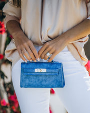 Priana Mini Crossbody Handbag - Cobalt view 3
