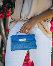 Priana Mini Crossbody Handbag - Cobalt view 6