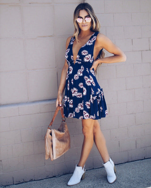 Bella Floral Babydoll Dress