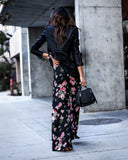Boogie Fever Floral High Waisted Pants