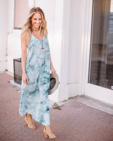 Sacred Waters Olivian Maxi Dress