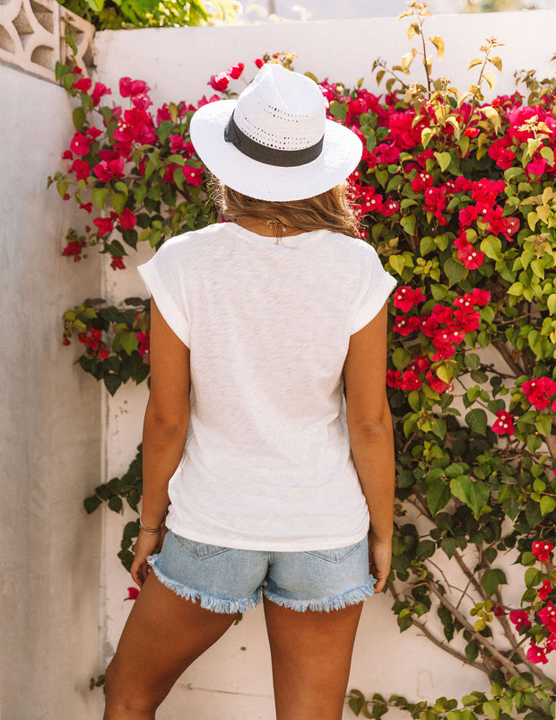 Picture Perfect Cotton + Modal Venice Beach Tee view 2
