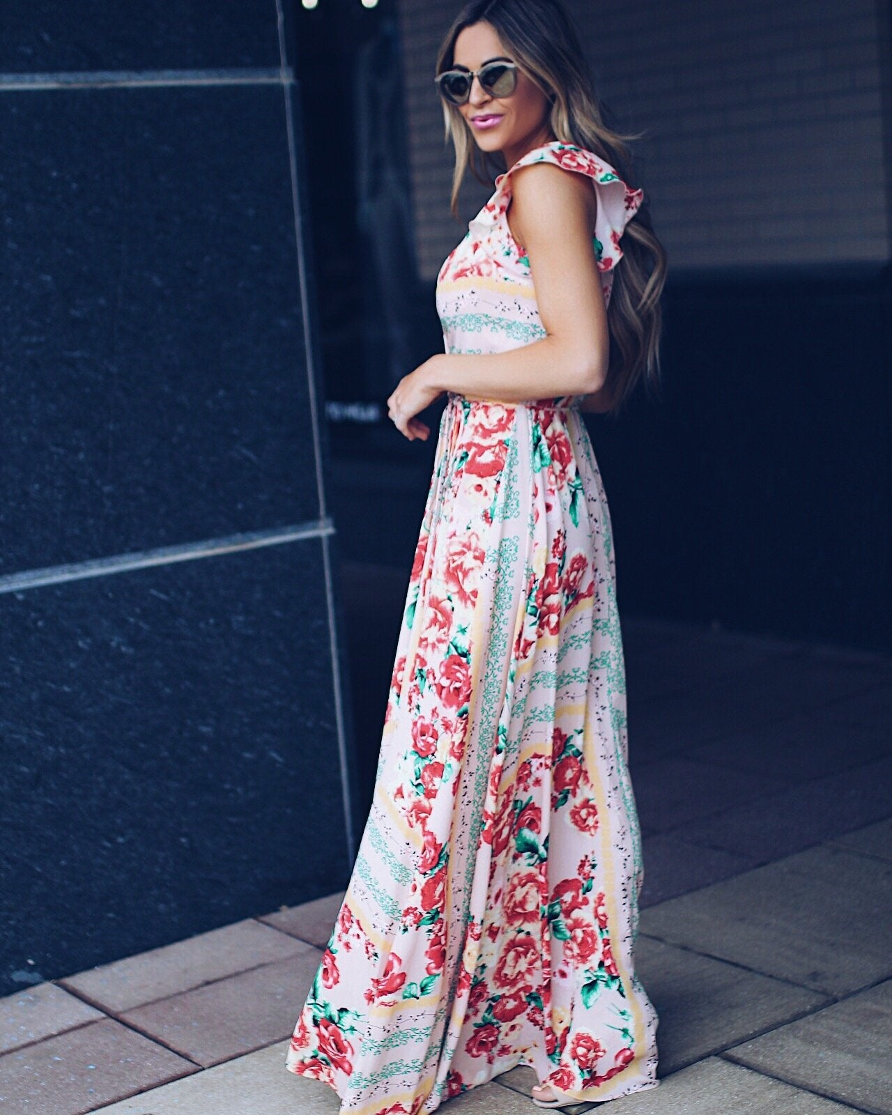 4d5884fa131 Sweet Tea Floral Wrap Maxi Dress - FINAL SALE – VICI
