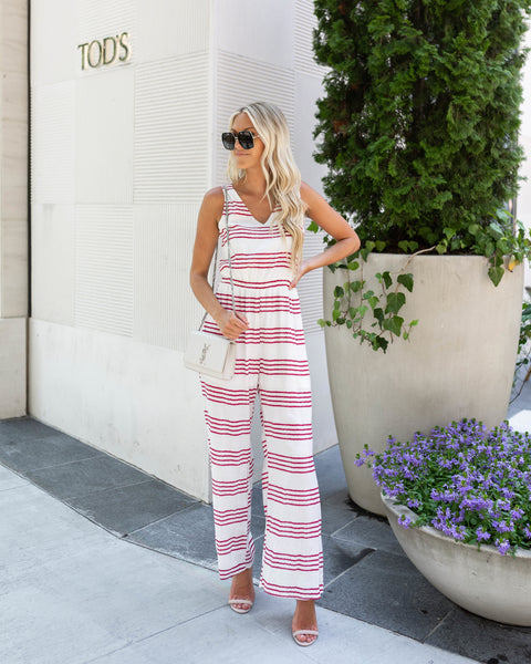 Ready Or Not Cotton Jumpsuit