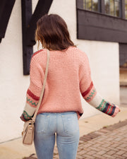 Hometown Honey Striped Knit Sweater - FINAL SALE view 3