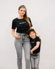 Mama Embroidered Cotton Blend Tee view 6
