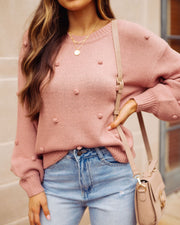 Emotions Knit Pom Sweater