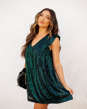 Guard Your Heart Sequin Pocketed Dress - FINAL SALE view 5