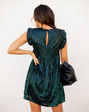 Guard Your Heart Sequin Pocketed Dress - FINAL SALE view 2