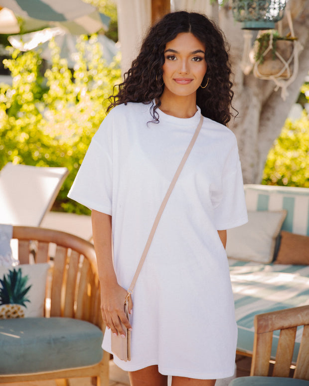Lost In Paradise French Terry T-Shirt Dress view 9