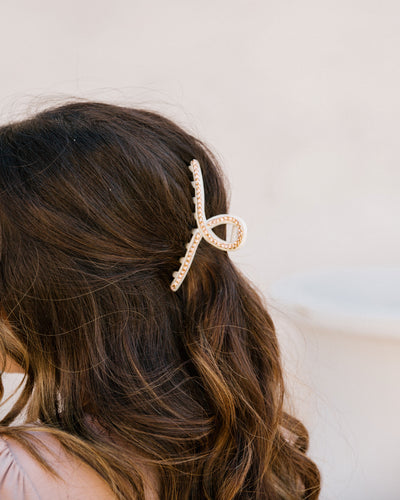 Glisten Beauty Rhinestone Hair Clip