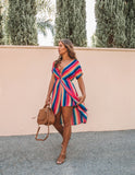 Lite Brite Striped Dress - FINAL SALE