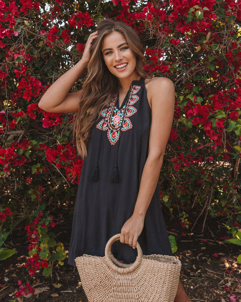 Aleah Embroidered Dress