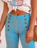 Sailor Sweetie Striped Pants - FINAL SALE