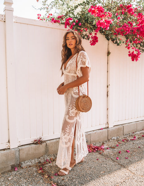 Ever After Lace Maxi Dress