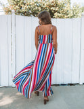 Color Factory Wrap Maxi Dress - FINAL SALE