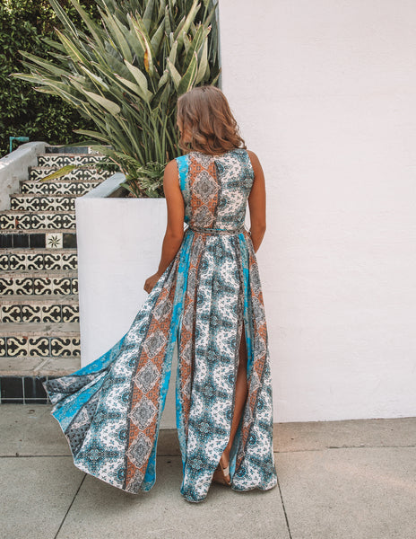 Cathedral Sleeveless Diana Maxi Dress - FINAL SALE